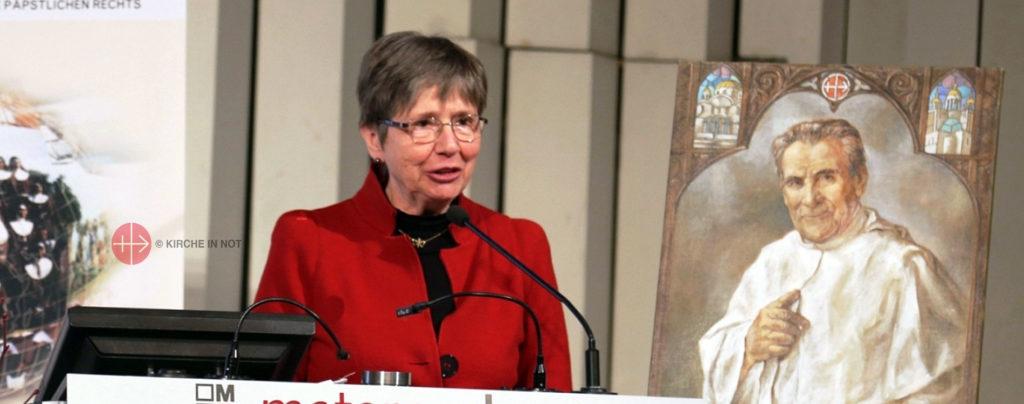 Antonia Willemsen: Ein Leben für die Kirche in Not