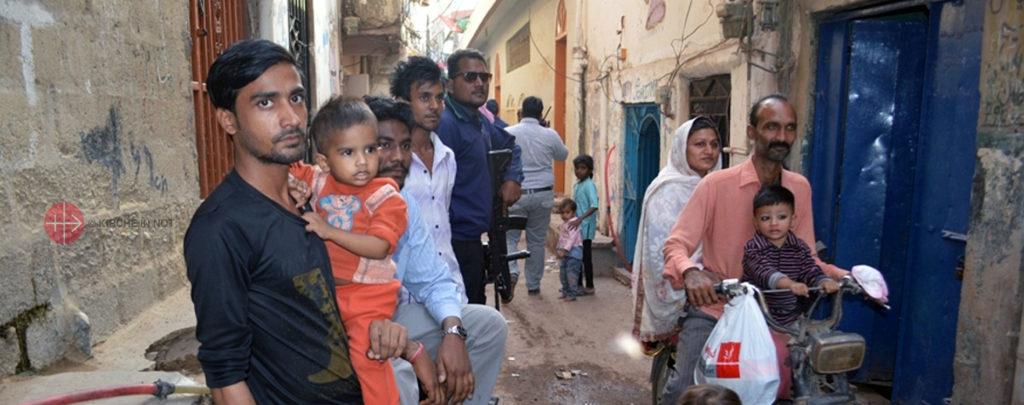 Pakistan: KIRCHE IN NOT hilft christlichen Familien in der Corona-Krise