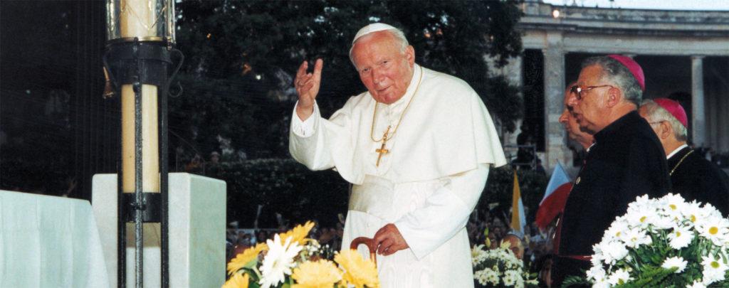 """Papst Johannes Paul II.: """"Eiliger Vater"""", Mann des Gebets, Apostel der Menschenwürde"""