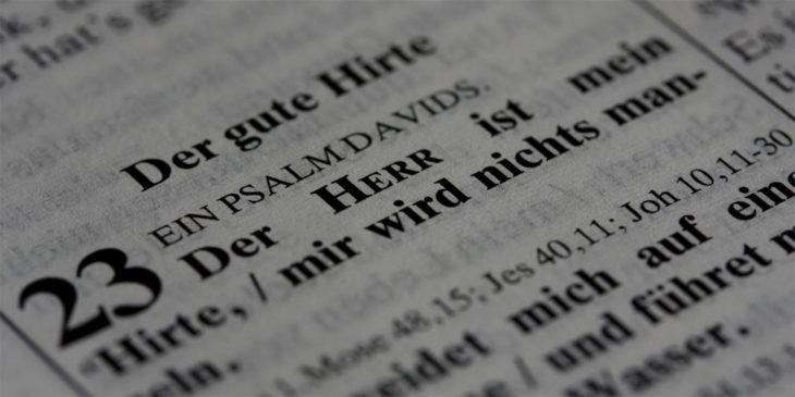 Gottes Worte in heiliger Schrift