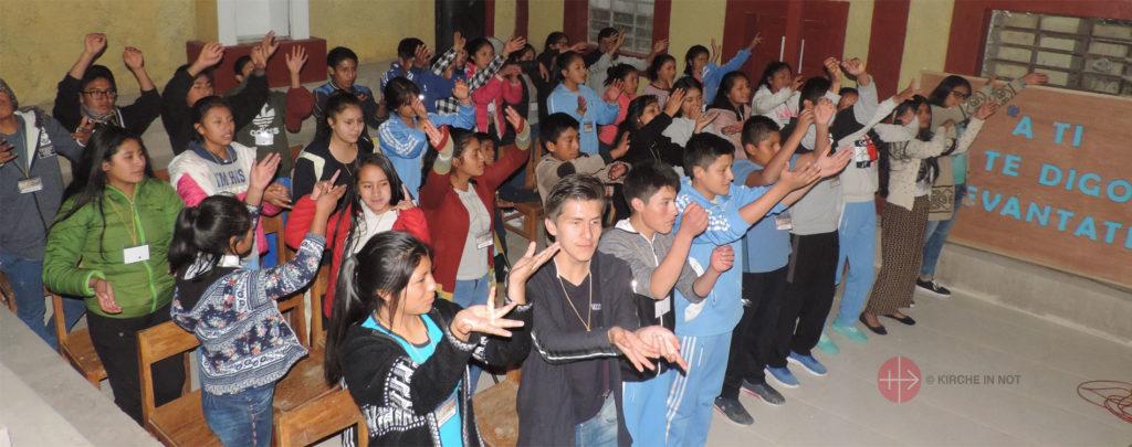 Peru: Katechetenausbildung in den Anden