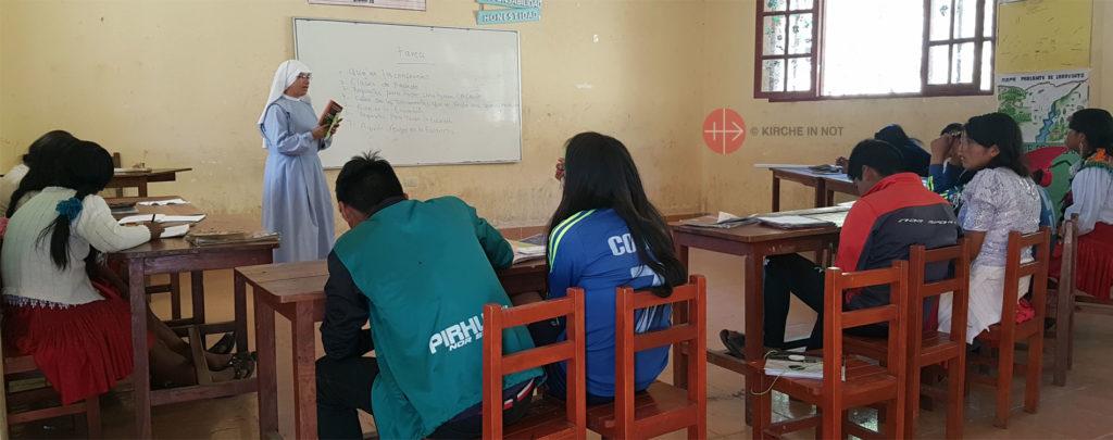 Bolivien: Existenzhilfe für 27 Ordensschwestern