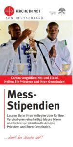 Faltblatt Mess-Stipendien