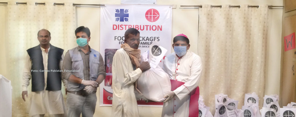 Pakistan: Corona-Nothilfen von KIRCHE IN NOT zeigen Wirkung