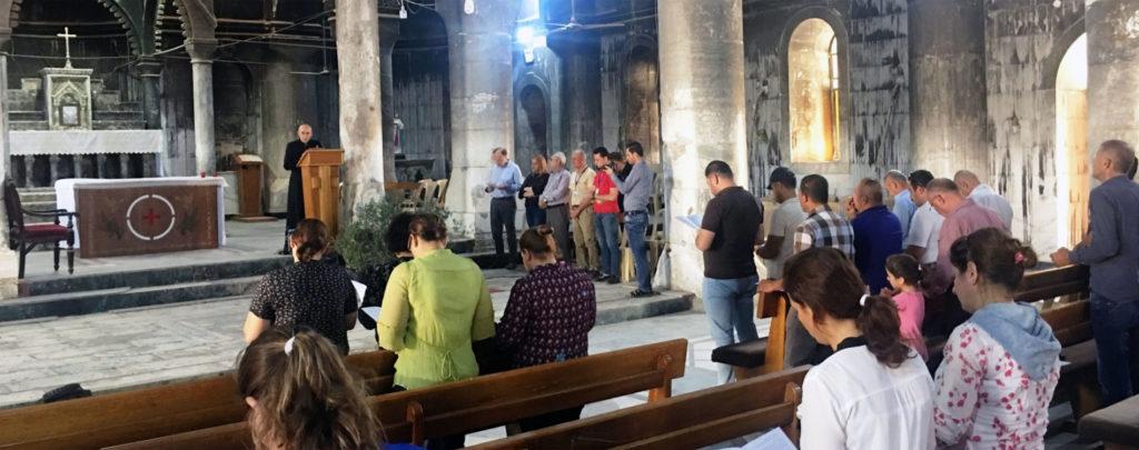 Irak: Kirchenbau für die Hoffnung