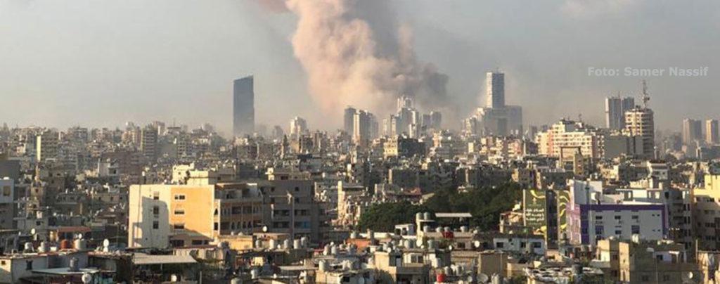 Nothilfe für den Libanon