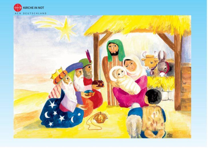 "Kinderbibel-Puzzle <br/ >""Stall von Bethlehem"""