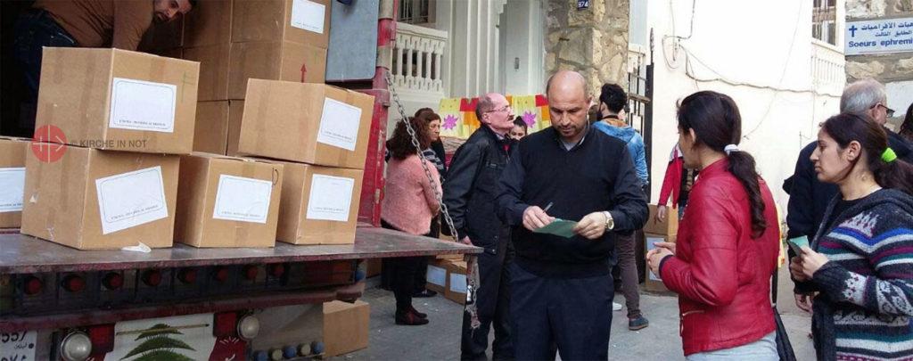 KIRCHE IN NOT schnürt zweites Hilfspaket für Beirut