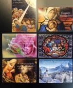 Christliche Weihnachtskarten im Set