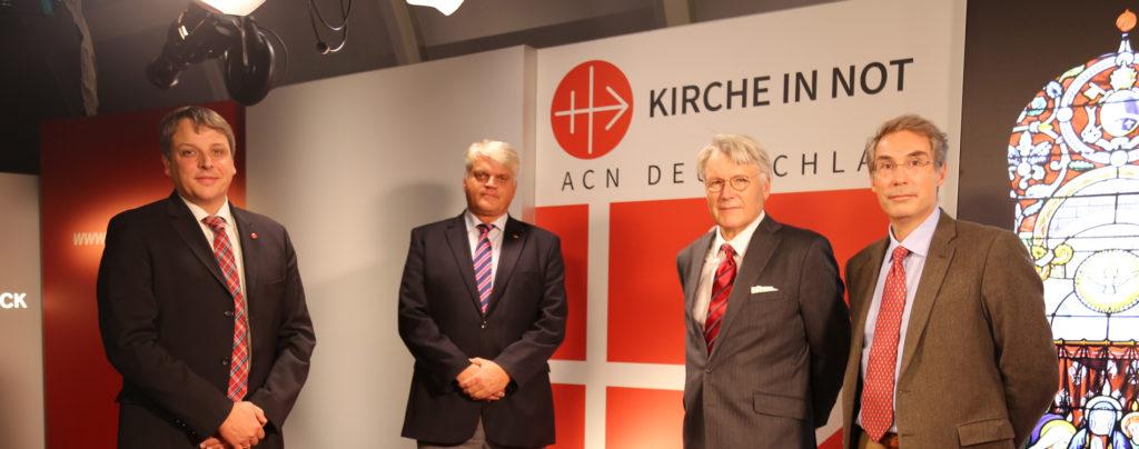 Regierungsbeauftragter für Religionsfreiheit zu Gast bei KIRCHE IN NOT
