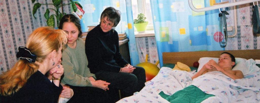 Russland: Renovierung eines Kinderhospizes in Sankt Petersburg