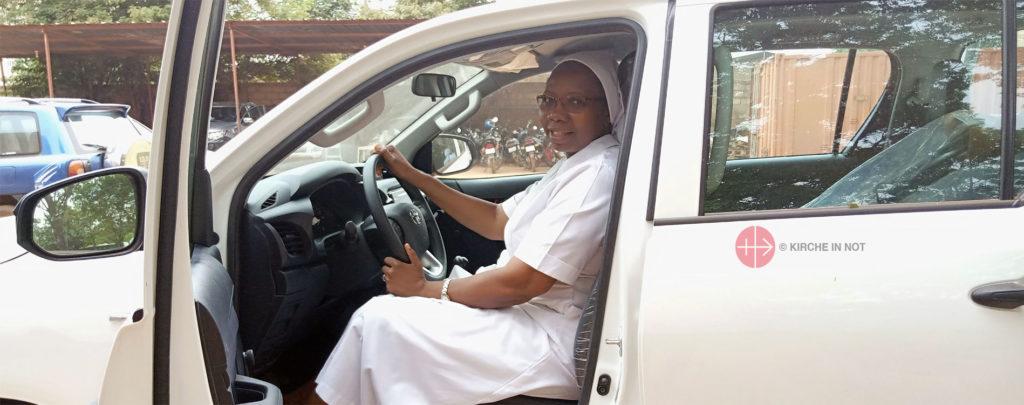Fahrzeug für Missionsschwestern in Westafrika