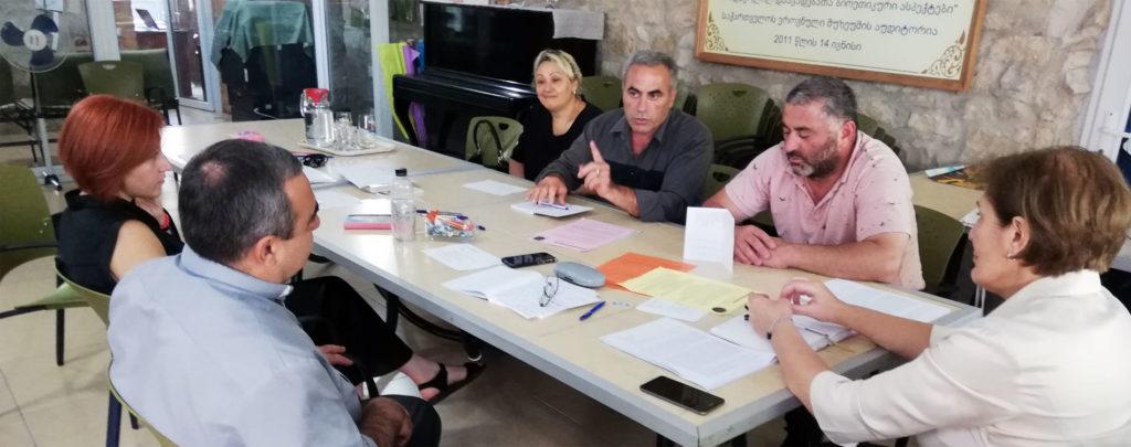 Georgien: Unterstützung der katholischen Familienkommission