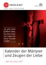Kalender der Märtyrer und Zeugen der Liebe