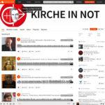 Soundcloud-Angebot von KIRCHE IN NOT Deutschland