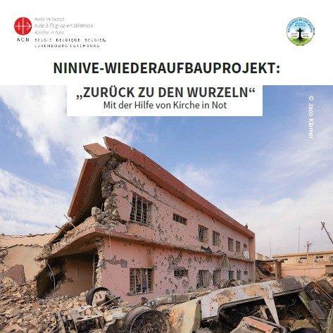 Vorstellung des Ninive-Wiederaufbauprojekts