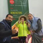 25 000 Winterjacken für Kinder in Syrien