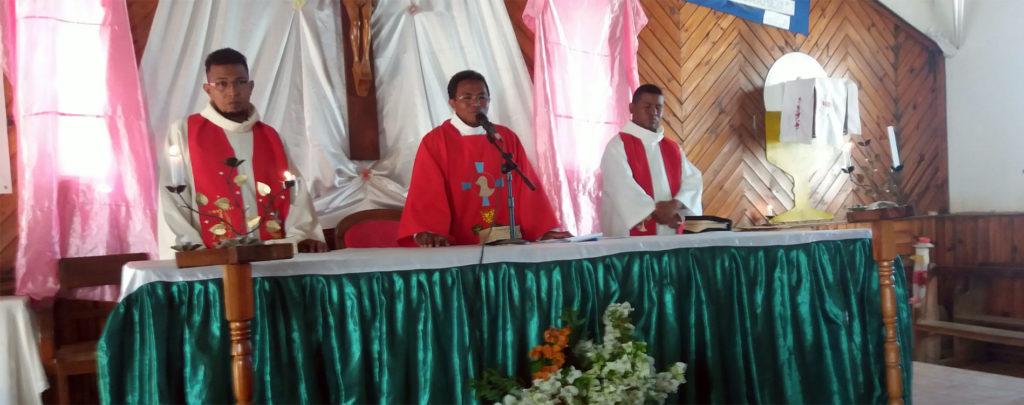 Madagaskar: Hilfe beim Bau eines Pfarrhauses