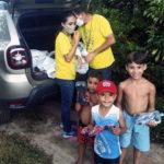 Brasilien: Hilfe zu Lande und zu Wasser
