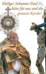 Gebetskarte Gebet von Johannes Paul II.
