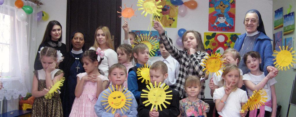 Hilfe für Straßenkinder in Sibirien