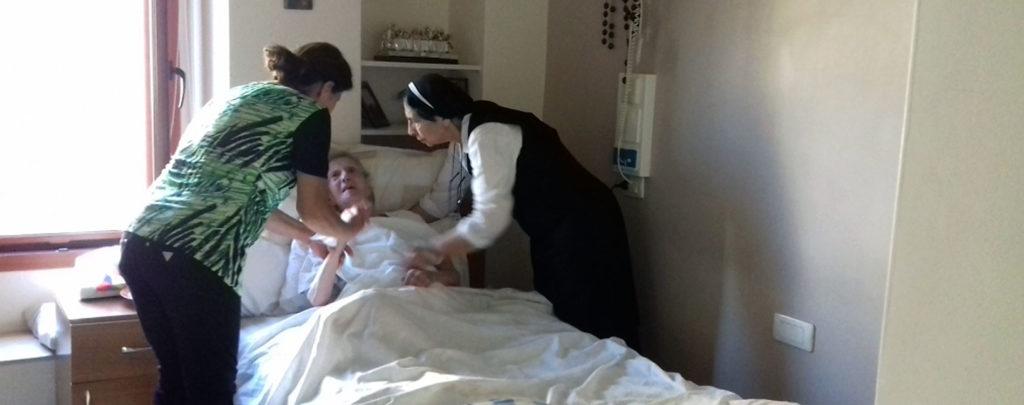 Libanon: Medizinische Versorgung für pflegebedürftige Ordensfrauen