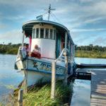 Unterstützen Sie Reparatur des Bootes