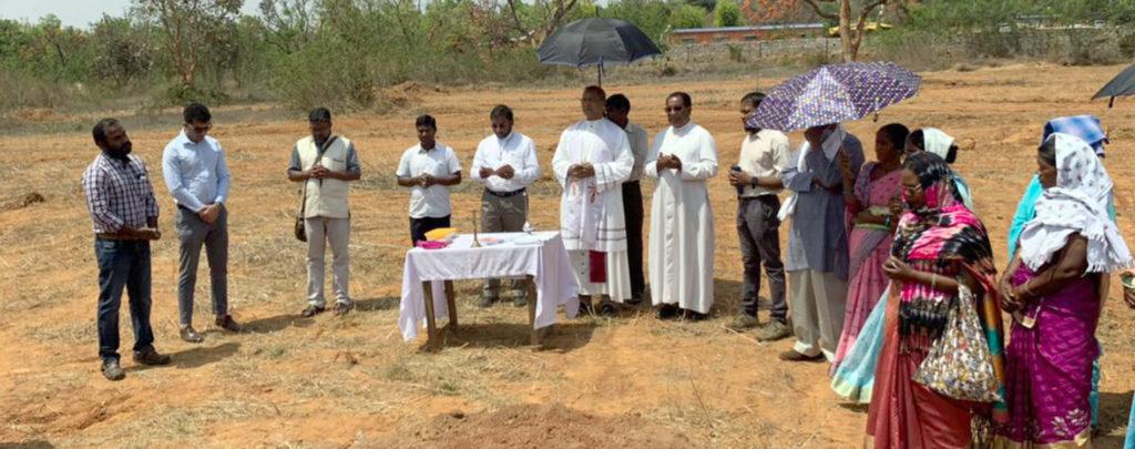 Indien: Hilfe beim Bau einer Kirche