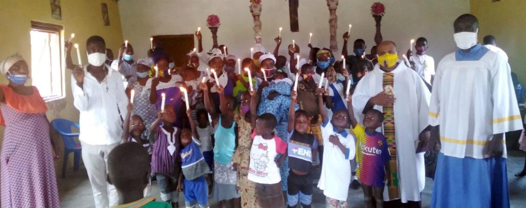 Ghana: Ein Fahrzeug für eine Pfarrei