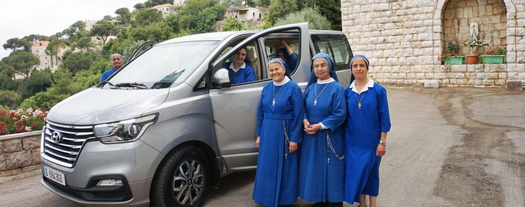 Libanon: Trostbringer auf vier Rädern