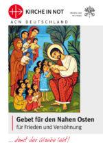 Gebetsblatt für den Nahen Osten