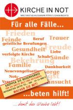 Faltblatt <br/>Für alle Fälle - Beten hilft