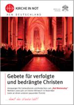 Gebete für verfolgte und bedrängte Christen
