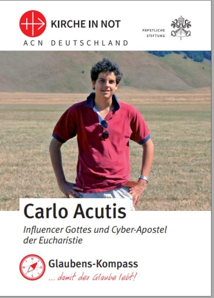 Zum Herunterladen:  <br/>Seliger Carlo Acutis - <br/>Glaubens-Kompass