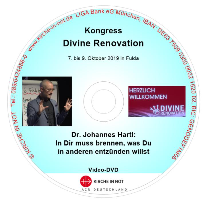 Dr. Johannes Hartl: <br/>In Dir muss brennen, was Du in anderen entzünden willst (Video-DVD)