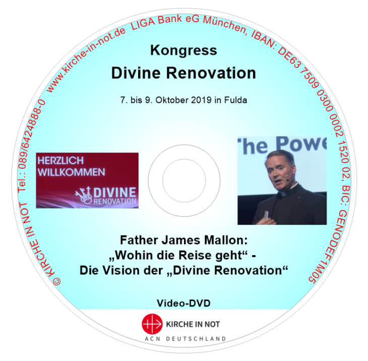 "Father James Mallon: ""Wohin die Reise geht"" ‒ <br/>Die Vision der ""Divine Renovation"" (Video-DVD)"