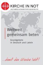 """Faltblatt """"Weltweit gemeinsam beten"""""""